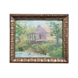 Vintage Framed Oil Painting