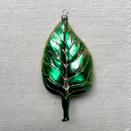 Poplar Leaf Ornament