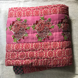 King Quilt (Pink)