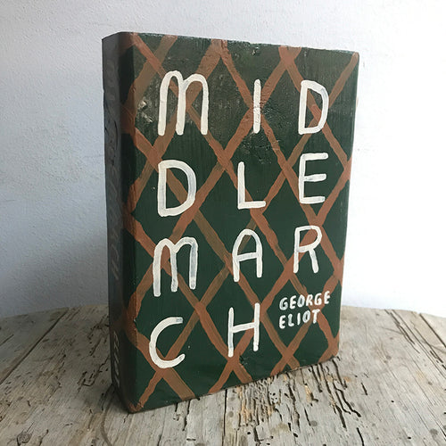 "Leanne Shapton ""Middlemarch"" Wooden Book"