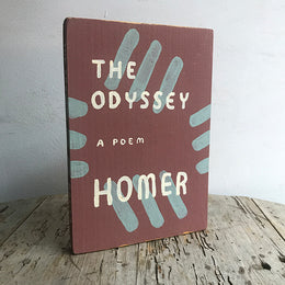 "Leanne Shapton ""The Odyssey"" Wooden Book"