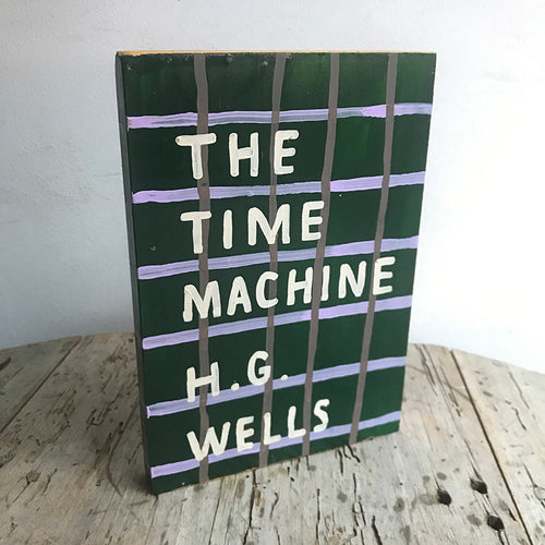 "Leanne Shapton ""The Time Machine"" Wooden Book"