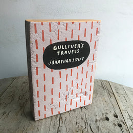 "Leanne Shapton ""Gulliver's Travels"" Wooden Book"