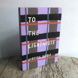 "Leanne Shapton ""To The Lighthouse"" Wooden Book"