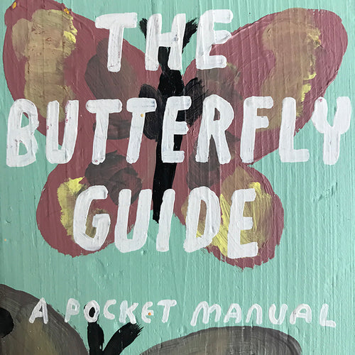 "Leanne Shapton ""The Butterfly Guide"" Wooden Book"