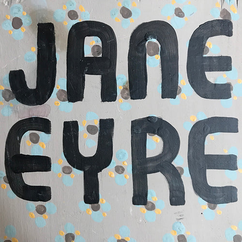 "Leanne Shapton ""Jane Eyre"" Wooden Book"