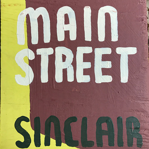"Leanne Shapton ""Main Street"" Wooden Book"