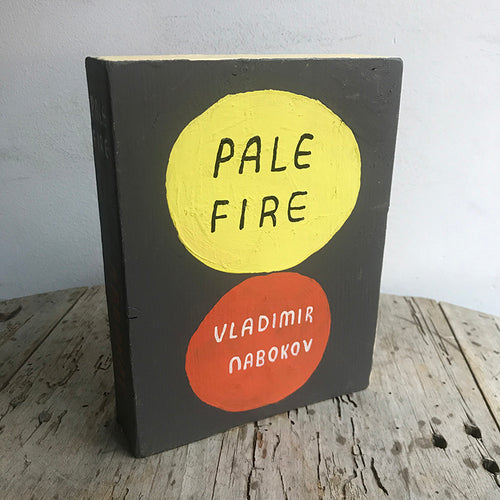 "Leanne Shapton ""Pale Fire"" Wooden Book"