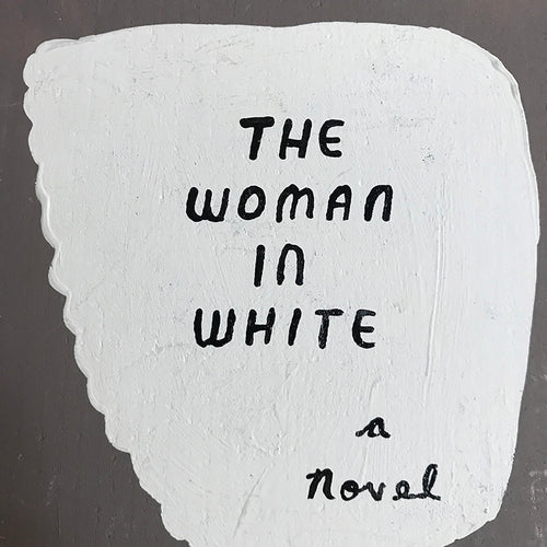 "Leanne Shapton ""The Woman in White"" Wooden Book"