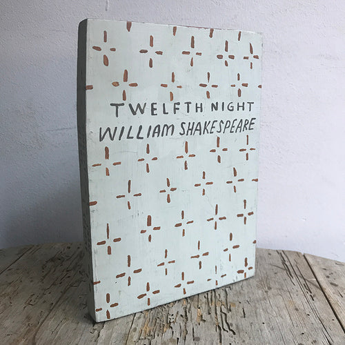 "Leanne Shapton ""Twelfth Night"" Wooden Book"