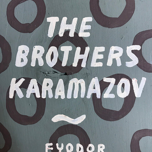 "Leanne Shapton ""The Brothers Karamazov"" Wooden Book"