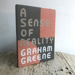 "Leanne Shapton ""A Sense of Reality"" Wooden Book"
