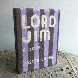 "Leanne Shapton ""Lord Jim"" Wooden Book"