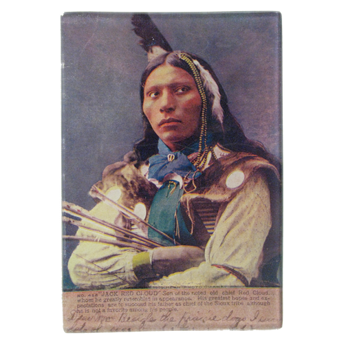 Native American Portrait 5: Jack Red Cloud