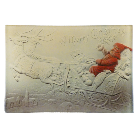A Merry Christmas (Santa in Sleigh)