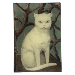 Cat In Twig Chair