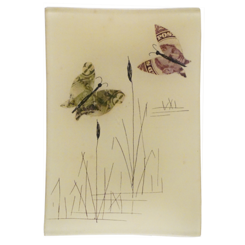 Stamp Collage: Butterflies