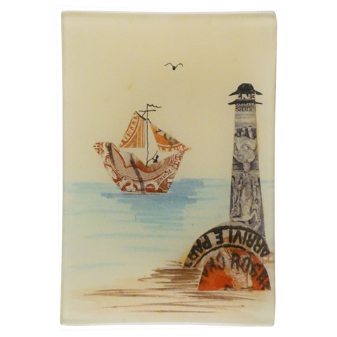 Stamp Collage: Lighthouse
