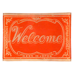 Welcome (Safety Matches)