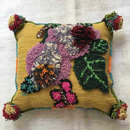 Nathalie Lete Embroidered Pillow