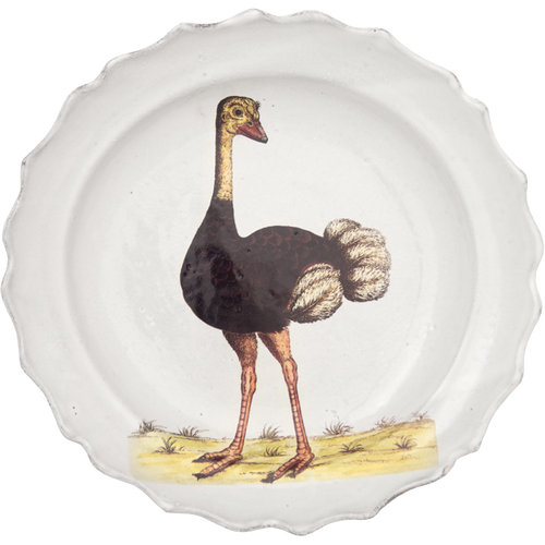 Ostrich Soup Plate