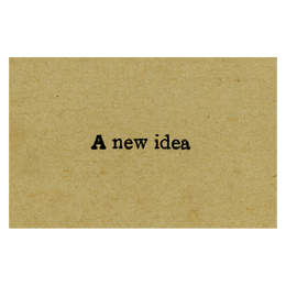 A New Idea - FINAL SALE