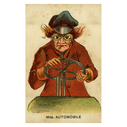 Mrs. Automobile - FINAL SALE