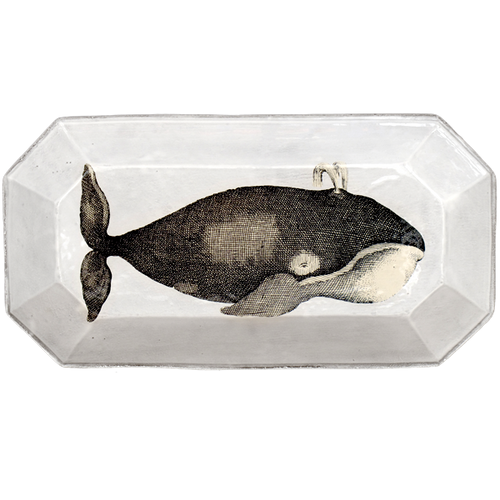 Whale Rectangular Tray