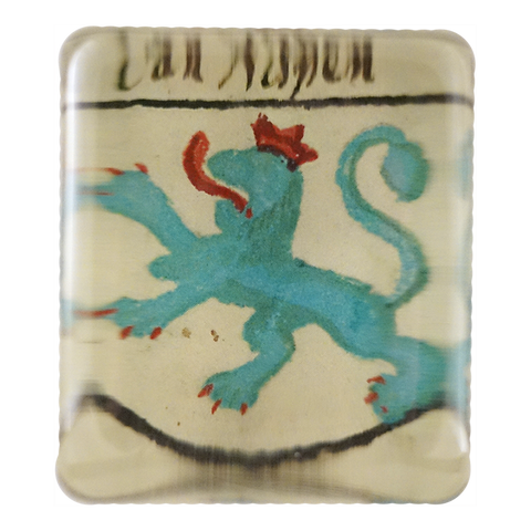 Medieval Turquoise Lion