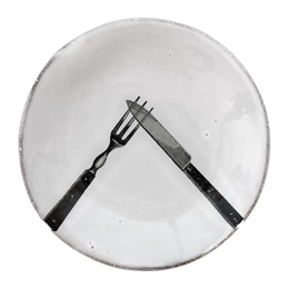 Fork & Knife Plate