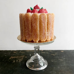 Lady Fingers Cake Candle