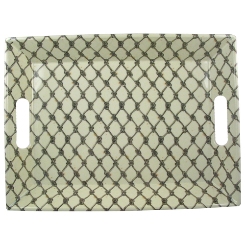 Fishnet Handled Tray