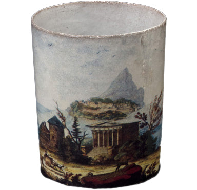 Empire Panorama Cup two hand crafted