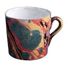 Cup with Marble Exterior