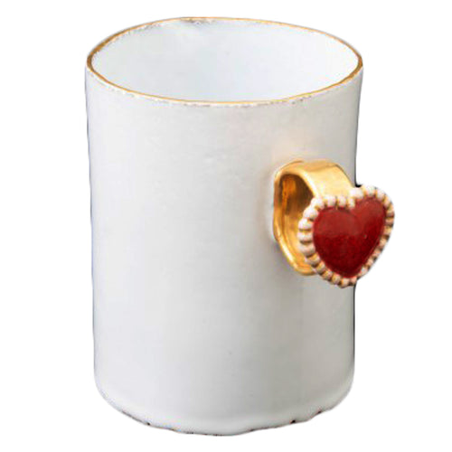 Serena Heart Ring Cup