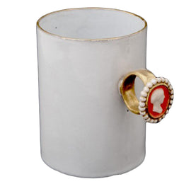 Serena Woman's Portrait Ring Cup