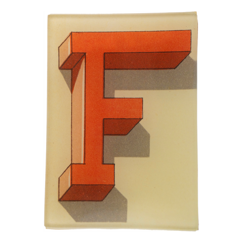 Shadowed Alphabet F