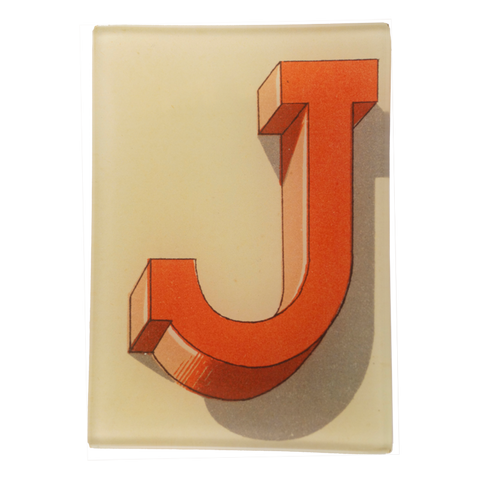 Shadowed Alphabet J