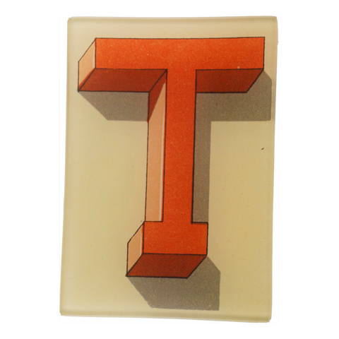 Shadowed Alphabet T