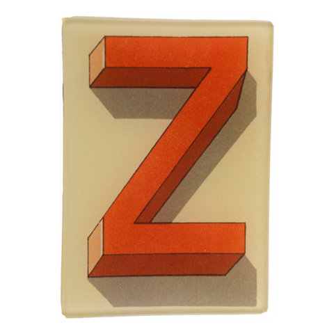 Shadowed Alphabet Z