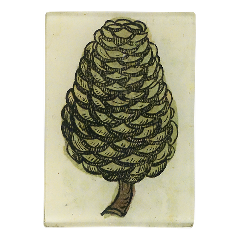 Medieval Flora Pointy Pine Cone