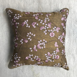 Tuileries Tassia Cushion in Nutty Brown