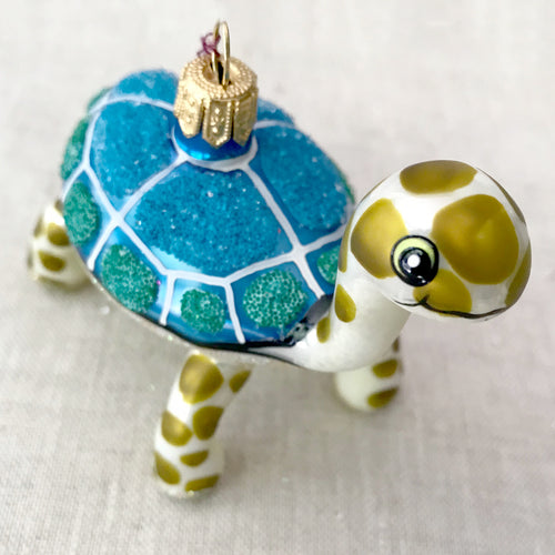 Blue Turtle Ornament