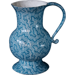 Blue Coral Pitcher