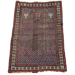 "W16 2'11"" x 4'3"" Anatolian Prayer Rug"