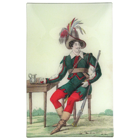 Merry Man with Plumed Hat