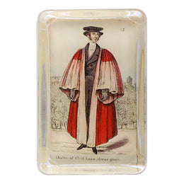 Costumes of Oxford - Doctor of Civil Laws dress gown