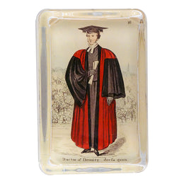 Costumes of Oxford - Doctor of Divinity dress gown