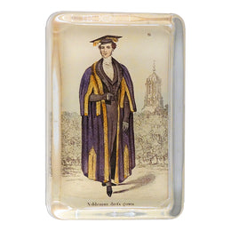 Costumes of Oxford - Nobleman drefs gown 6