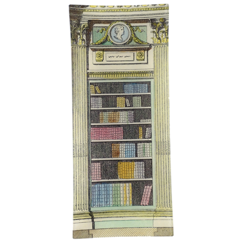 Library Cameo Blue Pink